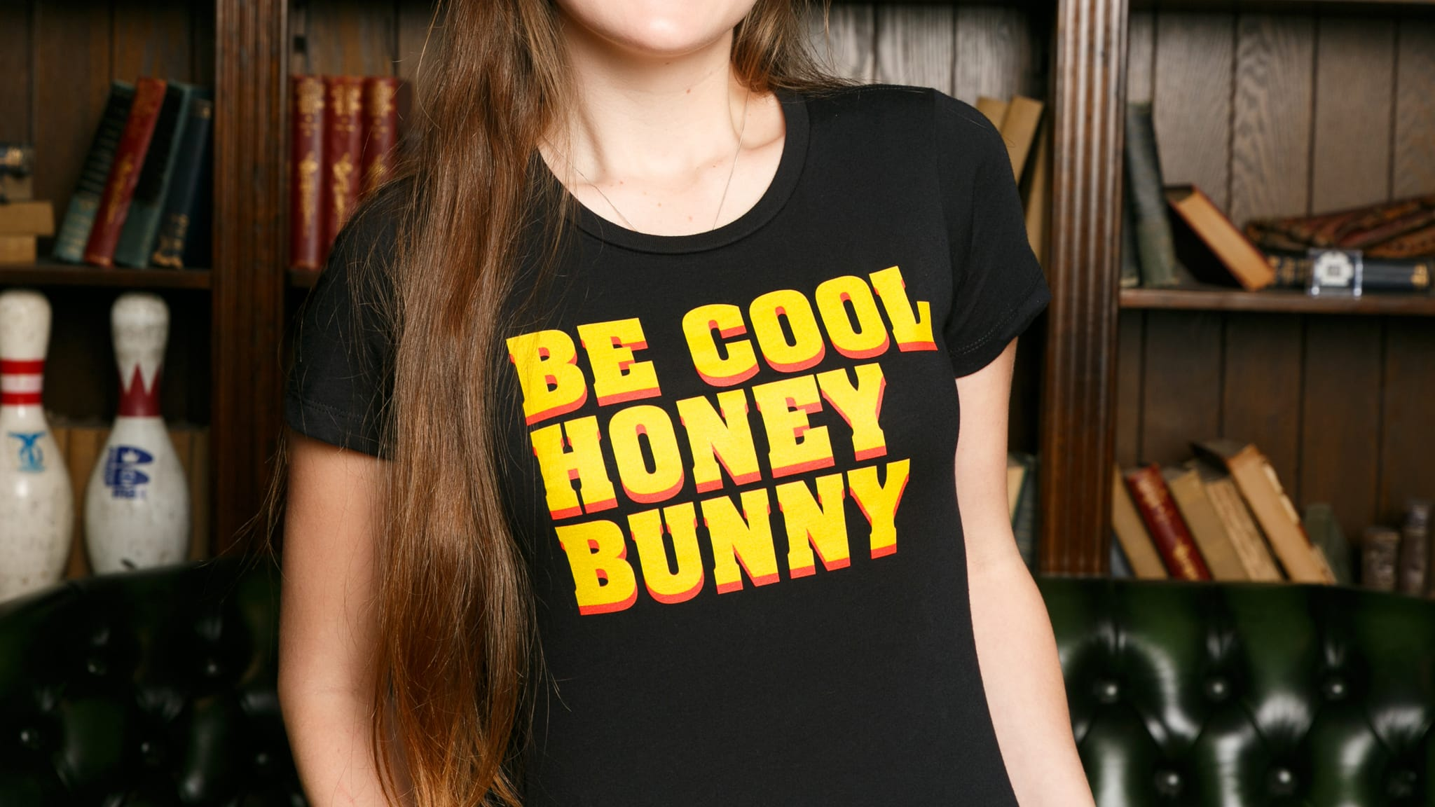 7eaa0f8a The Chivery   Women's Be Cool Honey Bunny Tee