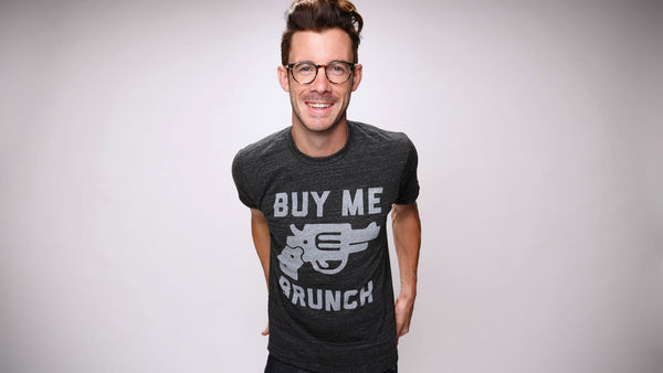 Buy me brunch men 39 s t shirt the chivery for Buy me brunch shirts
