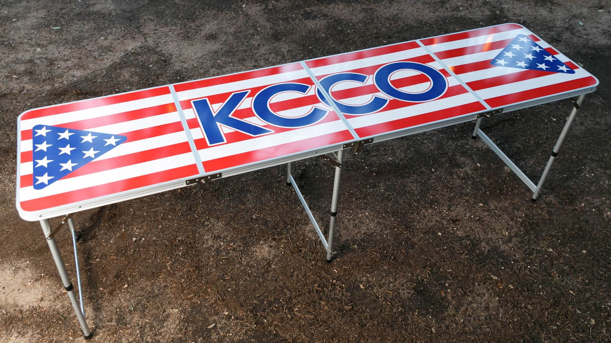 KCCO America Beer Pong Table. Double tap to zoom fa435bcd0