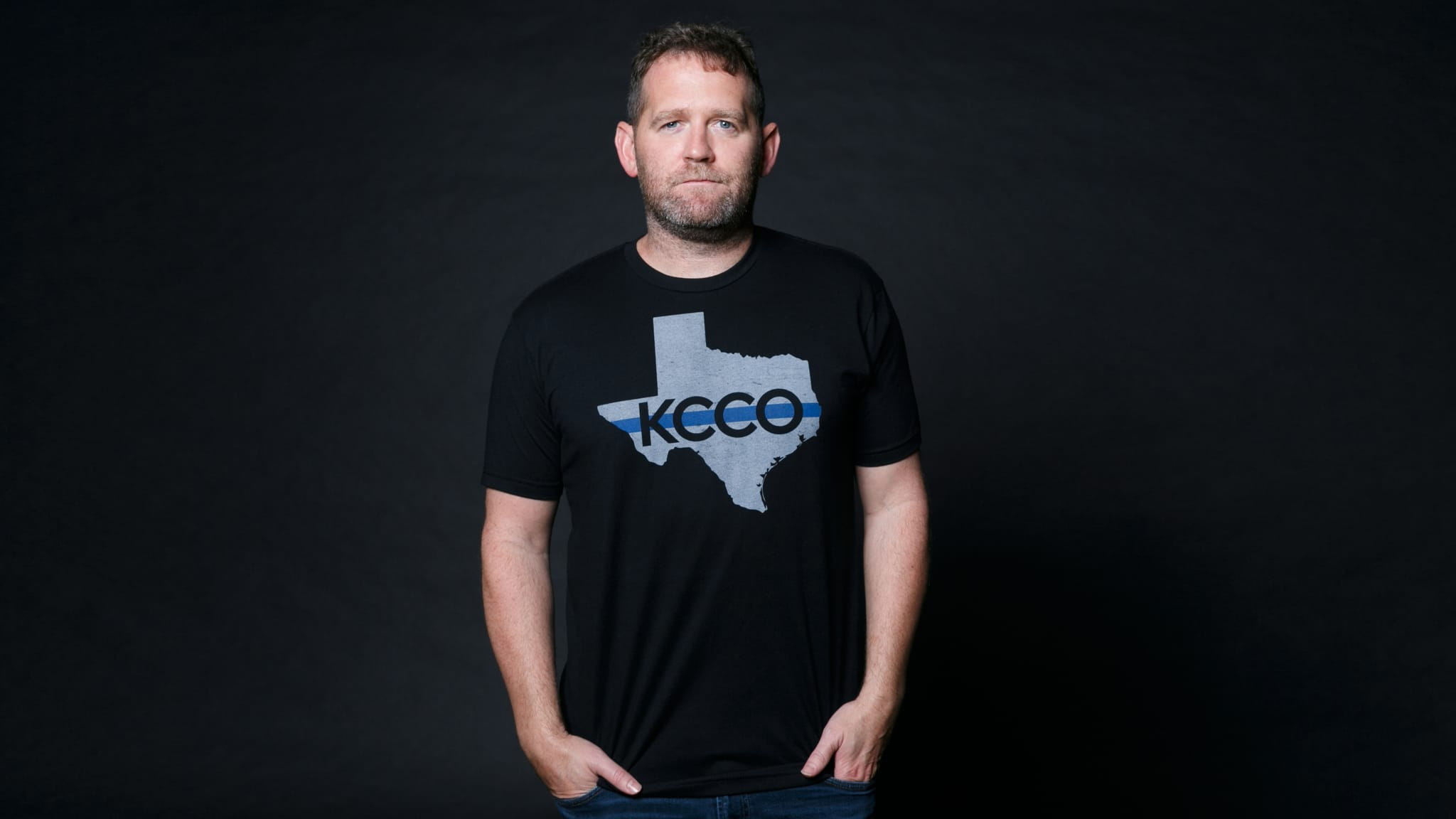 The chivery texas kcco thin blue line men 39 s t shirt for Texas thin blue line shirt