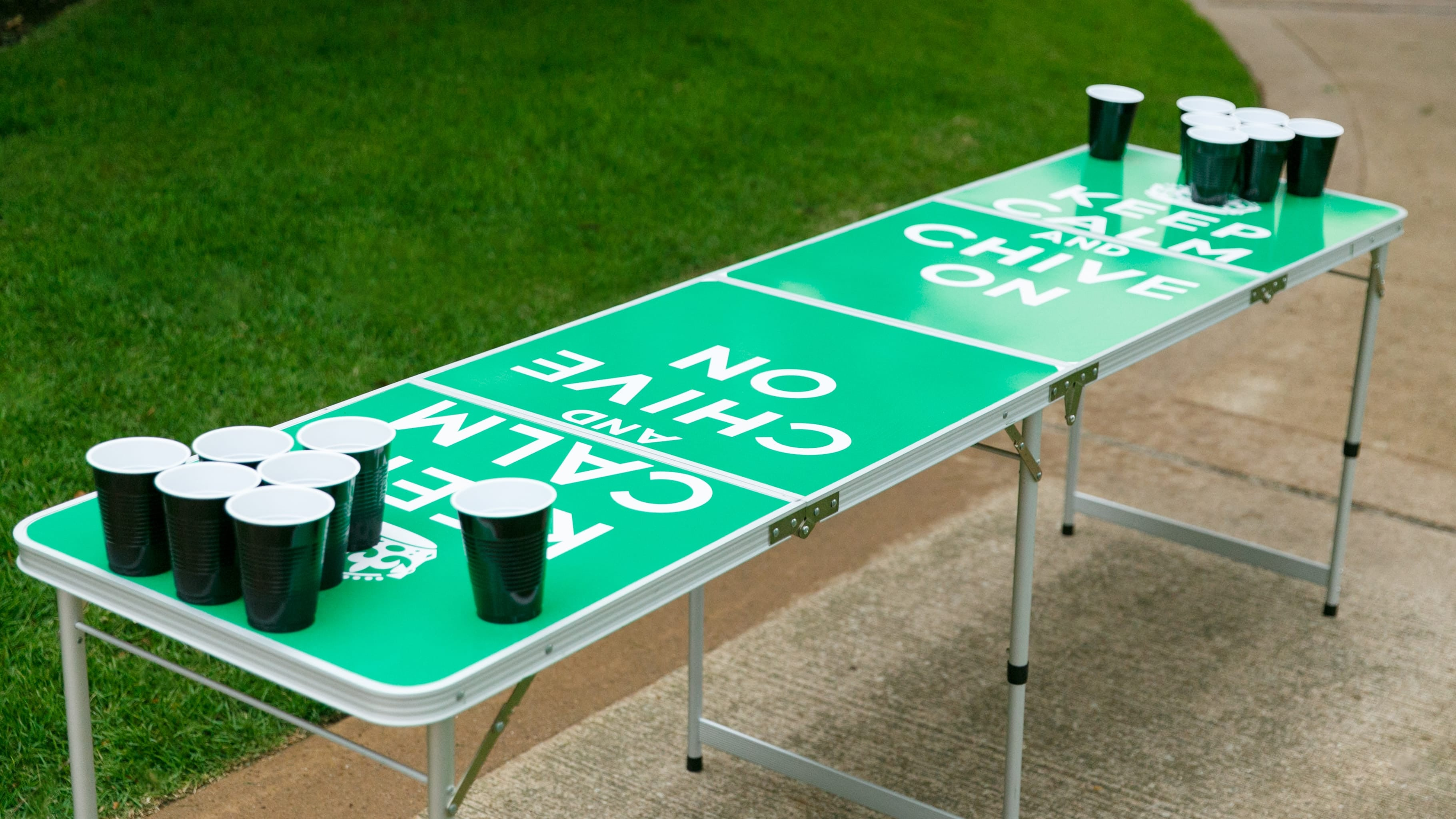 keep calm beer pong table the chivery rh thechivery com beer pong tables wood beer pong tables spencer's