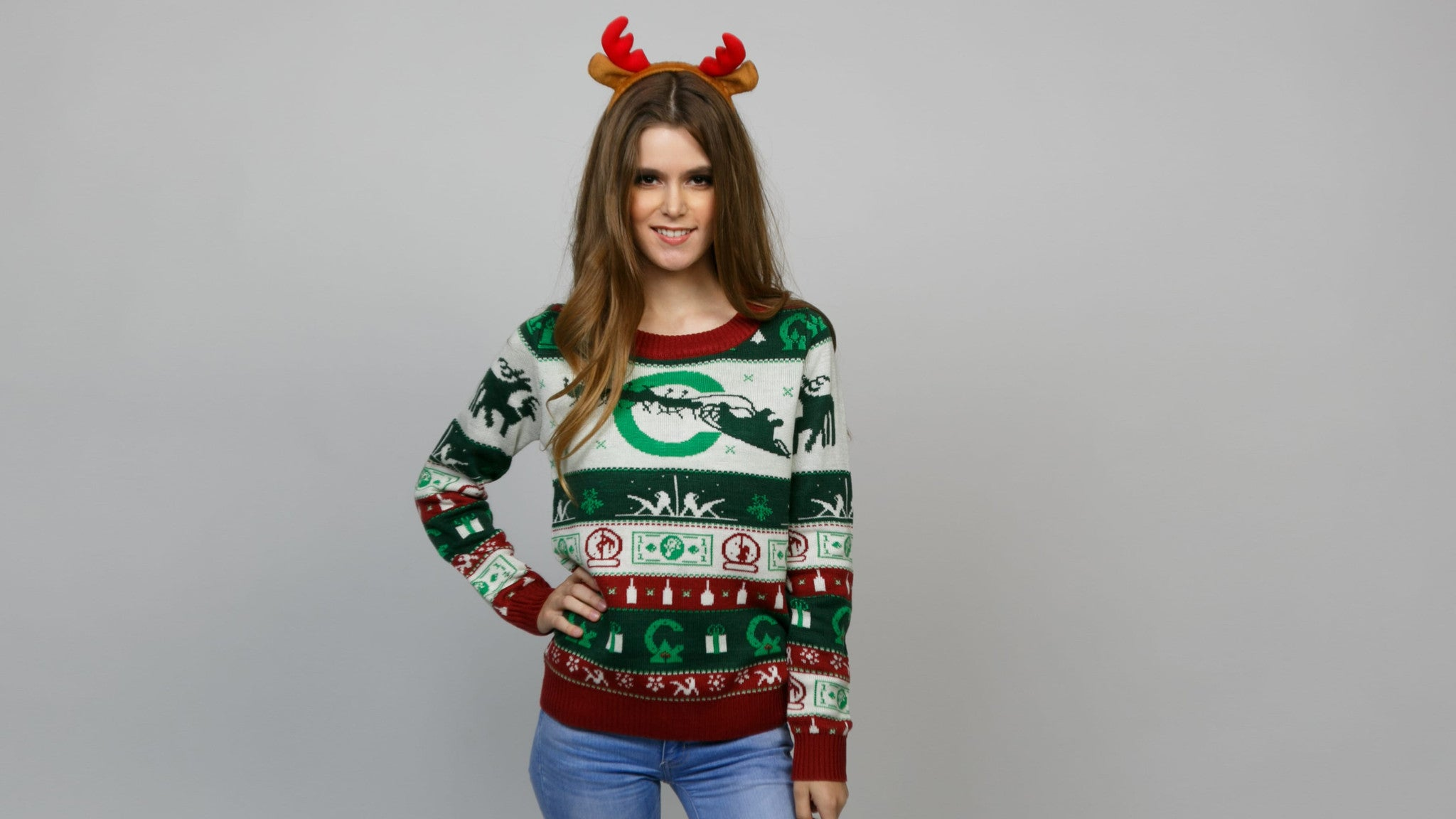 stripper ugly christmas sweater double tap to zoom - Ugly Christmas Sweater Cheap