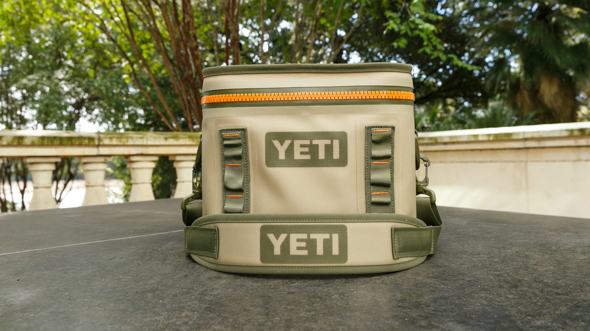 15b2e21126 YETI Hopper Flip 8 Soft Cooler Tan. Double tap to zoom