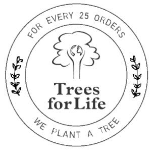 Soren's House is planting trees with Trees For Life!