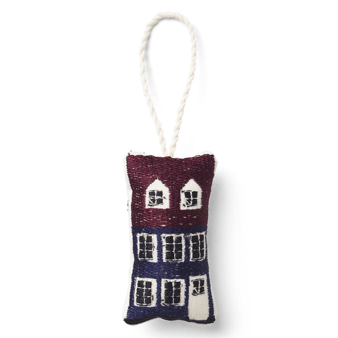 Ferm Living Embroidered Christmas Tree Decoration - Nyhavn