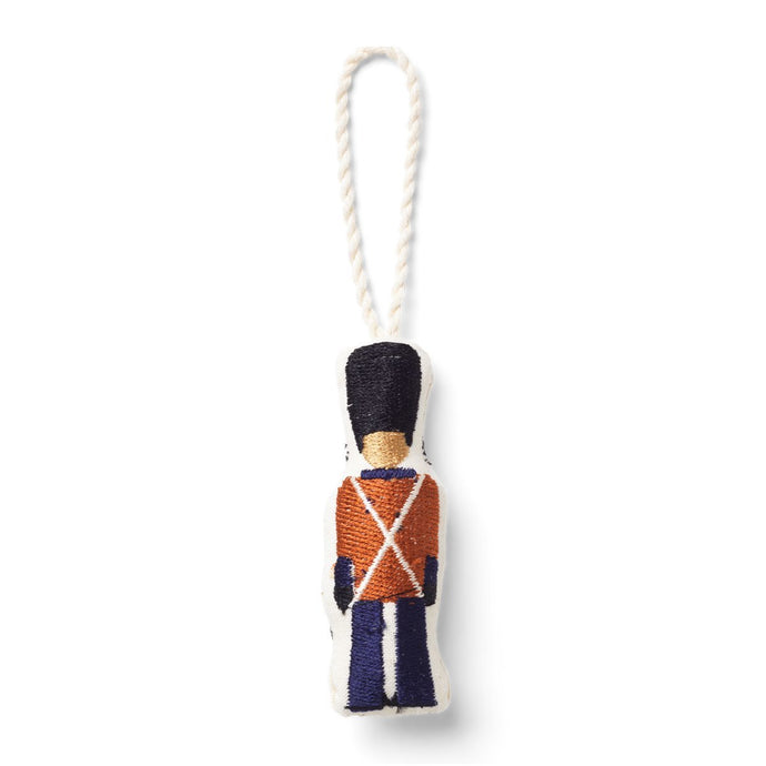 Ferm Living Embroidered Christmas Tree Decoration - Royal Life Guard