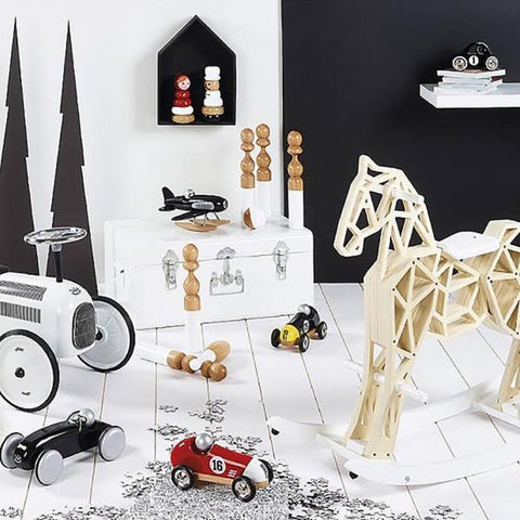 Vilac Diamond Wooden Rocking Horse