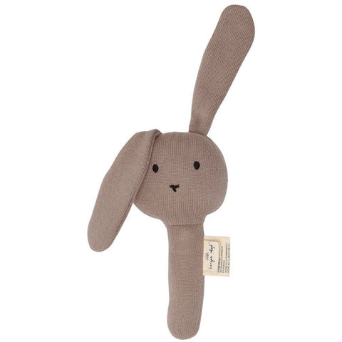 Konges Slojd Organic Activity Hand Rabbit - Rose Fawn | Soren's House