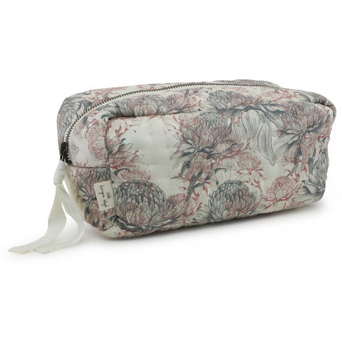 Konges Slojd Quilted Toiletry Bag - Chardon