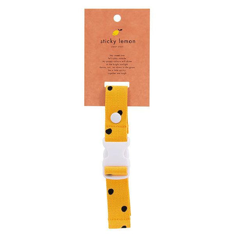 Sticky Lemon Backpack Chest Strap - Freckles Sunny Yellow
