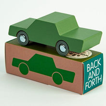 Waytoplay Wooden Toy Car - Olive Green