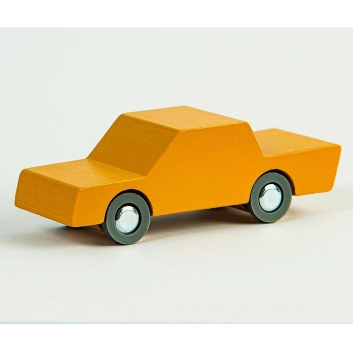 Waytoplay Wooden Toy Car - Caramel