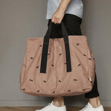 Ferm Living Horse Embroidery Weekend Bag - Tan