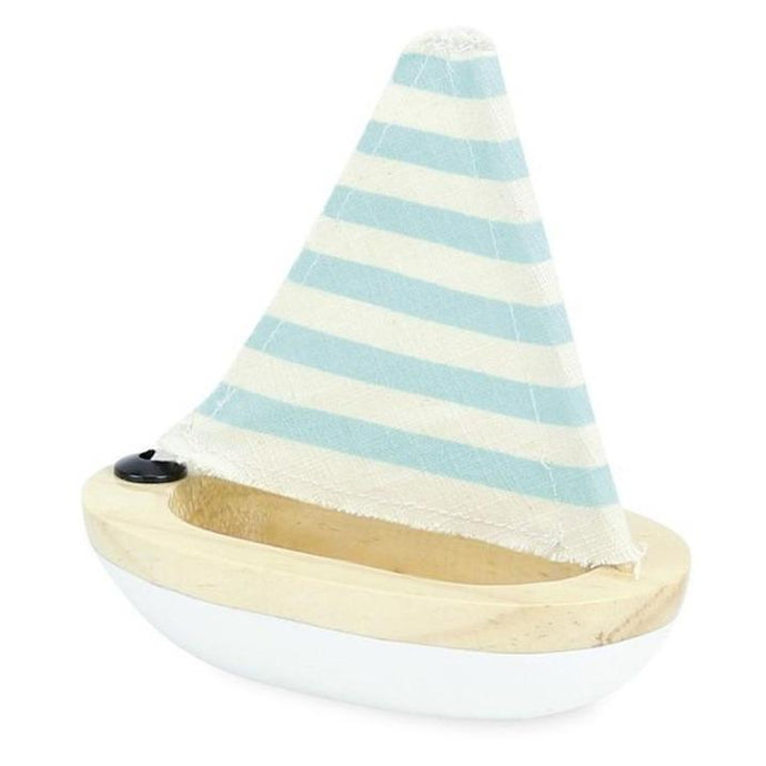 Vilac Wooden Bath Sailboat - White