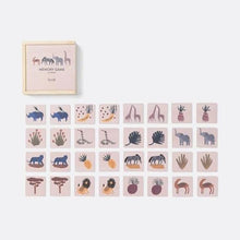 Ferm Living Wooden Safari Memory Game