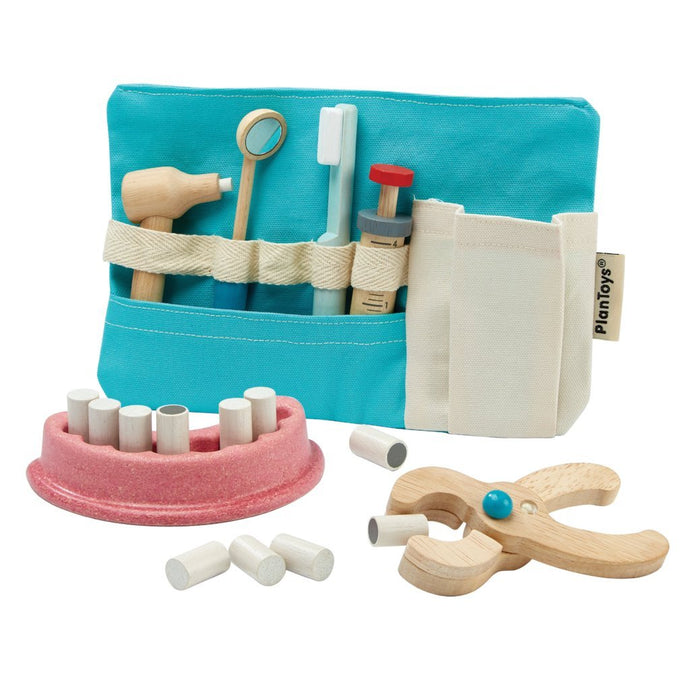 Plan Toys Wooden Dentist Set | Soren's House