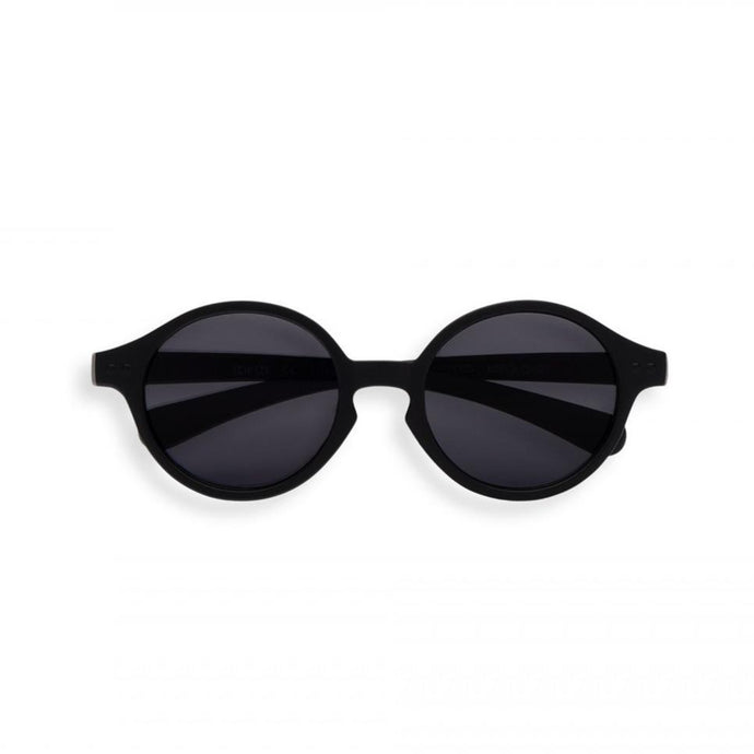IZIPIZI #SUN Kids Toddler Sunglasses - Black (12-36 Months)