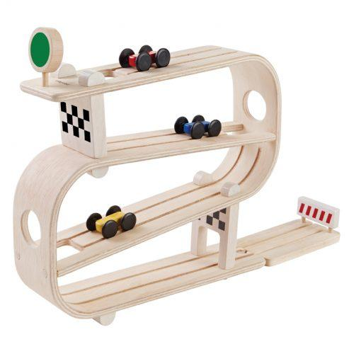 Plan Toys Wooden Car Ramp Racer Children's Toy