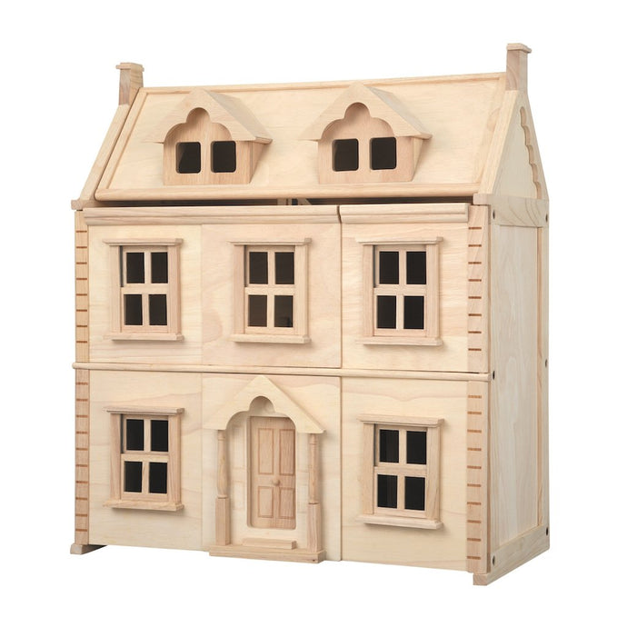 Plan Toys Wooden Victorian Dollhouse | Wooden Toys