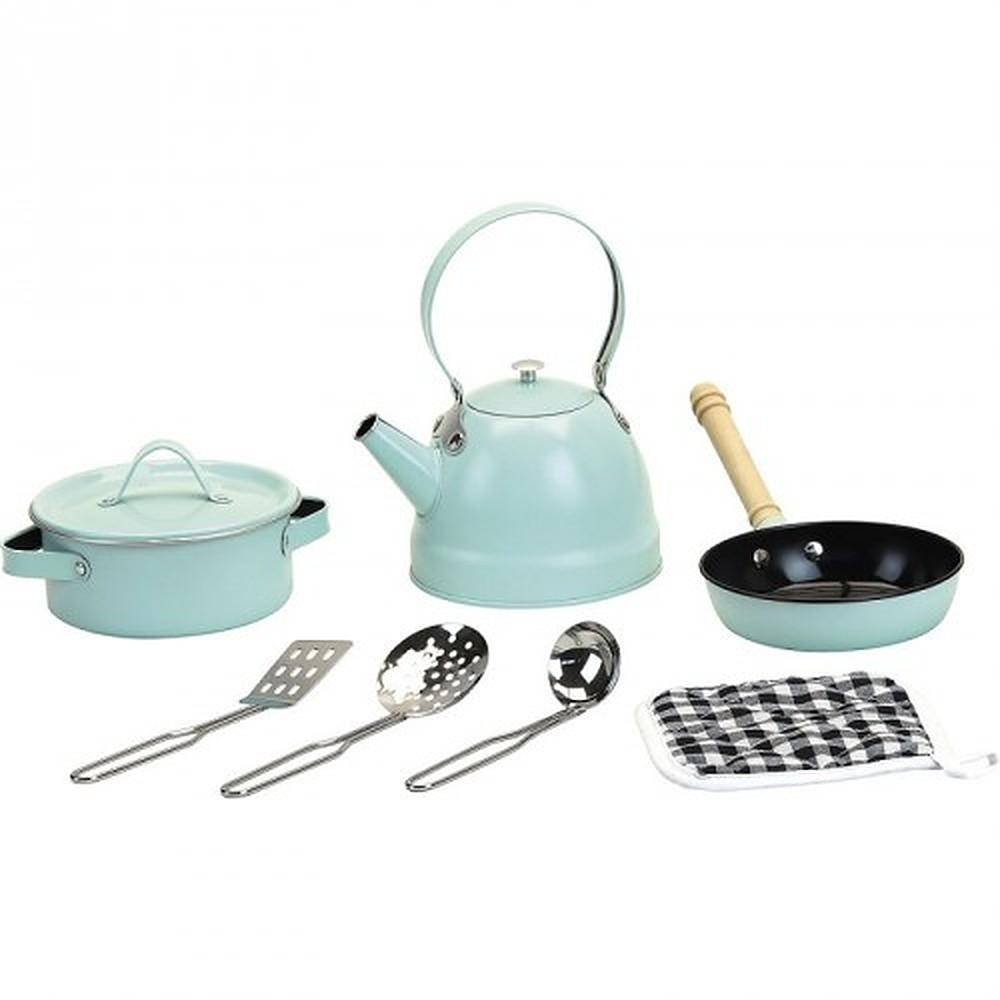 Vilac Vintage Metal Cooking Set