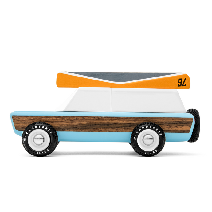 Candylab - 'Pioneer Classic' Wooden Toy Car