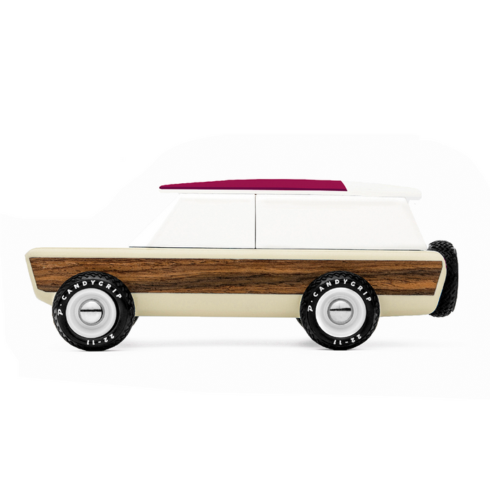 Candylab - 'Pioneer Yucatan' Wooden Toy Car