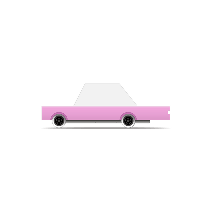 Candylab - Pink Candycar Wooden Toy Car