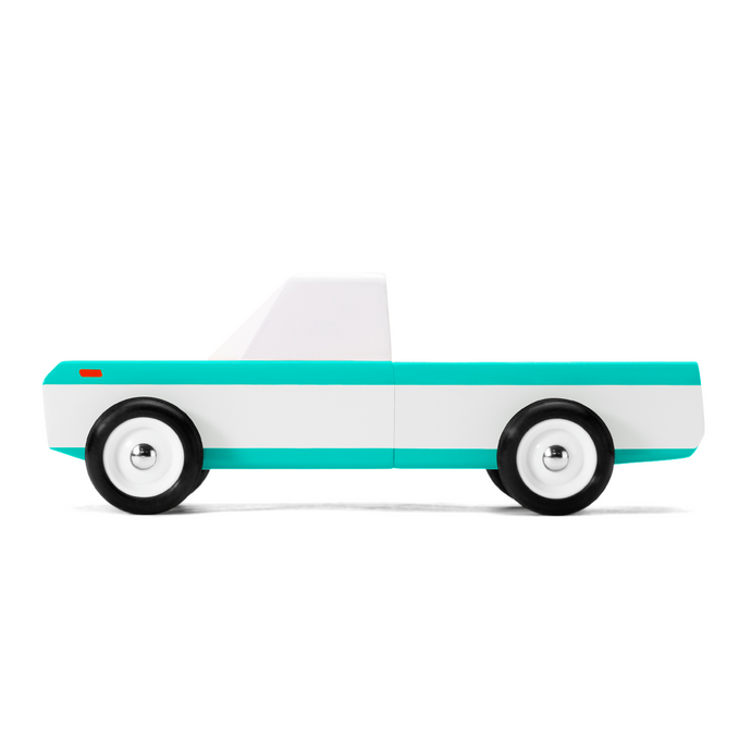 Candylab - 'Longhorn Teal' Wooden Toy Car