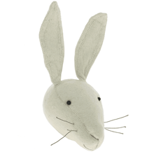 Fiona Walker White Rabbit Felt Animal Wall Head - Large