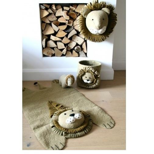 Fiona Walker Felt Animal Rug - Lion
