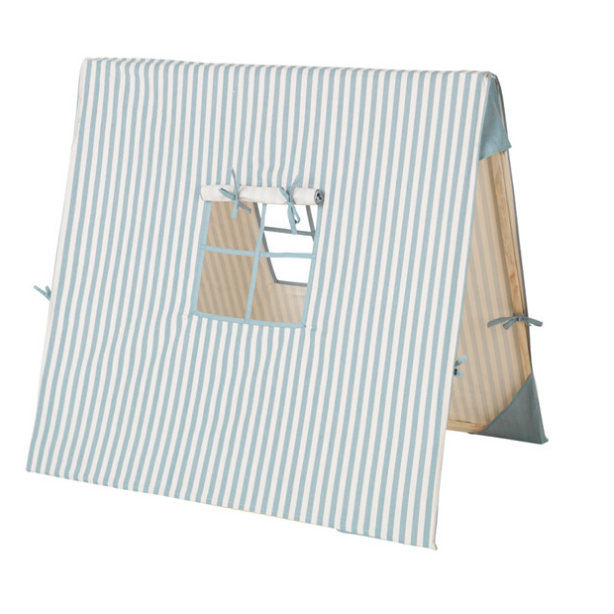 Ferm Living Play Tent - Blue Thin Stripes