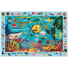 Ocean Life Search & Find 64 Piece Jigsaw Puzzle By Mudpuppy