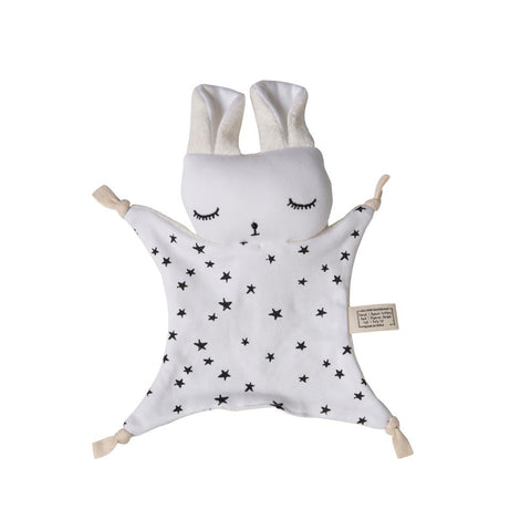 Wee Gallery Organic Cuddle Bunny Comforter - Stars | Soren's House