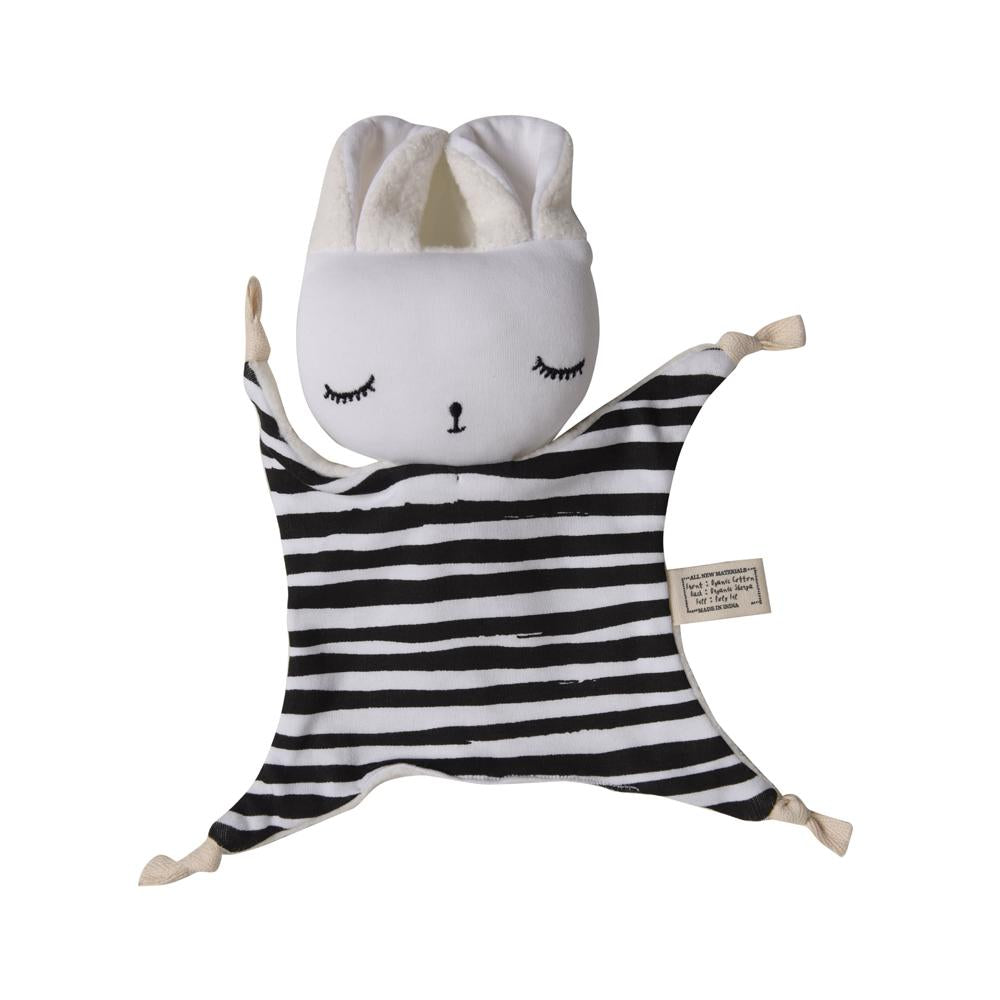 Wee Gallery Organic Cuddle Bunny Comforter - Stripes | Soren's House