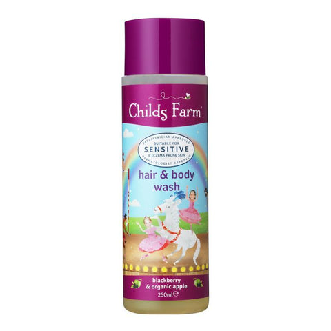 Childs Farm Hair & Body Wash, Blackberry & Organic Apple 250ml