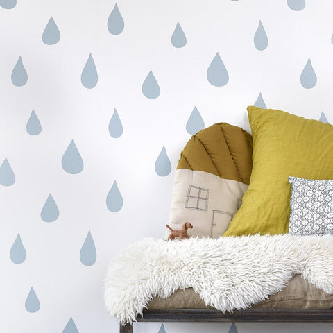 Hibou Home Wallpaper - Raindrops