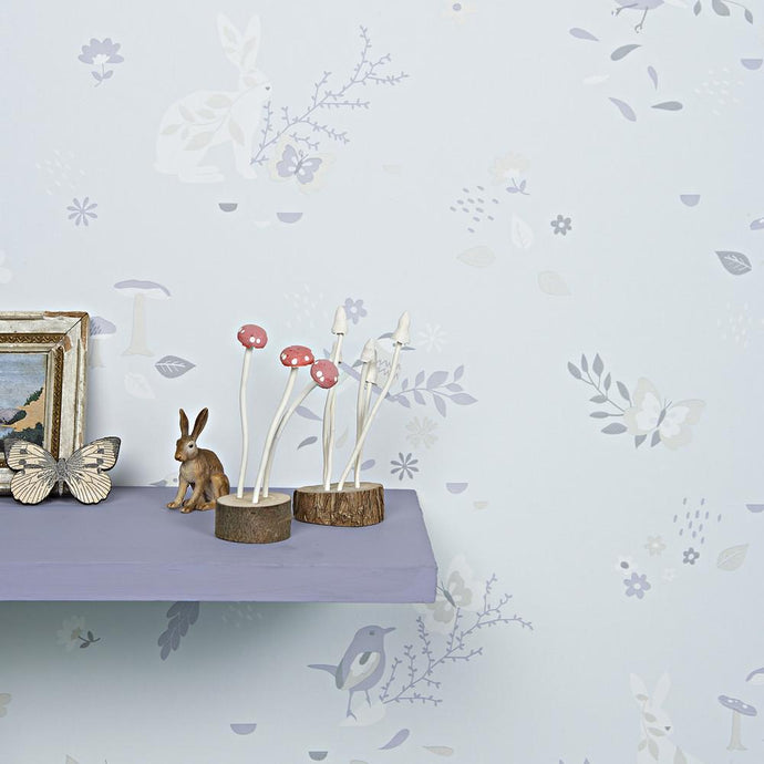 Hibou Home Wallpaper - Secret Garden