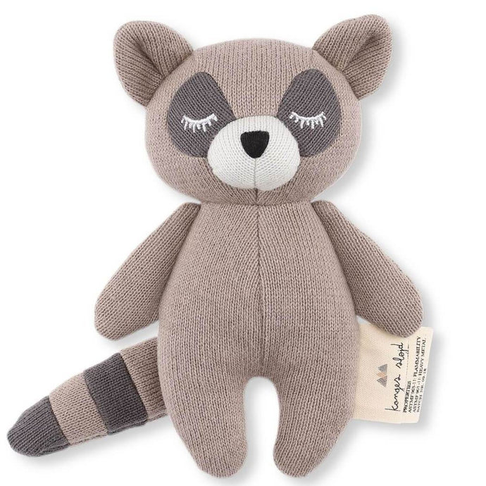 Konges Slojd Mini Raccoon Rattle | Soren's House