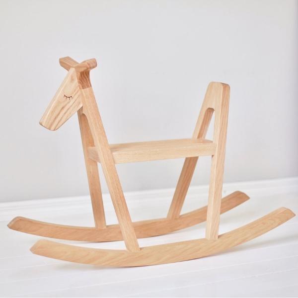 Lillagunga Reindeer Wooden Ride On Rocking Horse