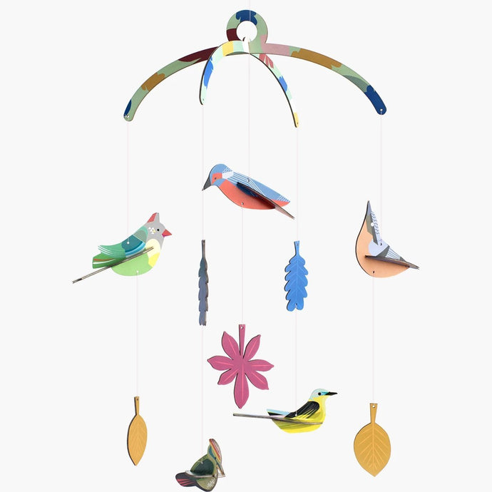 Studio Roof Mobile - Garden Birds