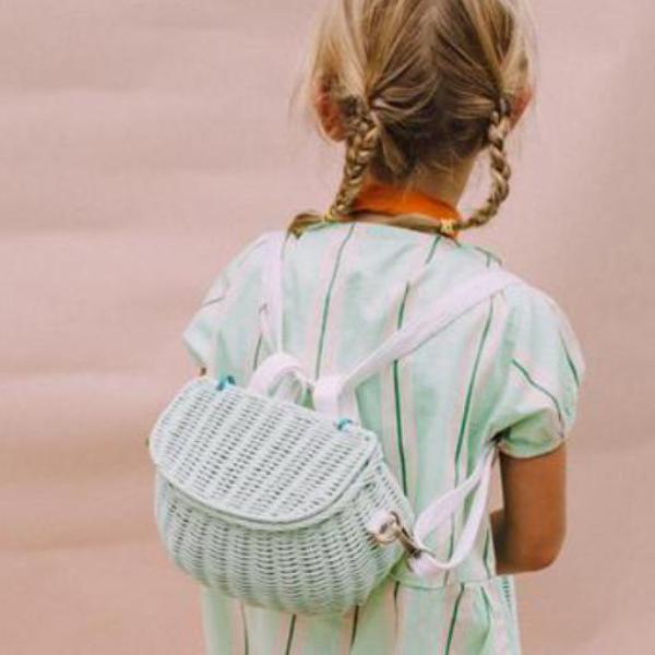 Olli Ella Mini Chari Bag - Mint | Soren's House
