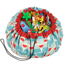 Badminton Print Play & Go Toy Storage Bag & Playmat | Soren's House