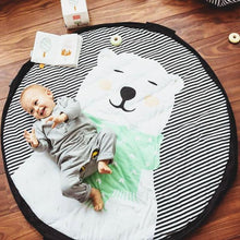 Play & Go Polar Bear Toy Storage Bag & Soft Playmat | Soren's House