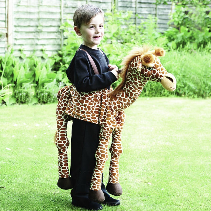 Children's Ride On Giraffe Dress Up - Age 3 to 8 years