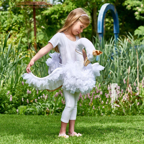 Dress Up By Design Children's Glide On Swan Dress Up - Age 3 to 8 years