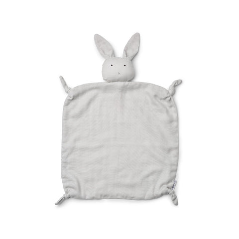 Liewood Agnete Organic Cuddle Cloth - Rabbit Dumbo Grey