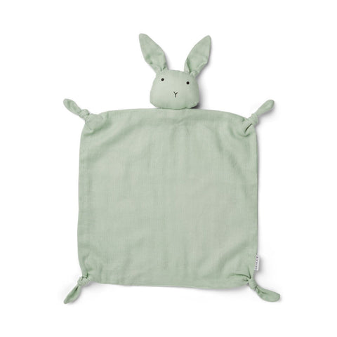 Liewood Agnete Organic Cuddle Cloth - Rabbit Dusty Mint
