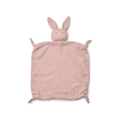 Liewood Agnete Organic Cuddle Cloth - Rabbit Rose