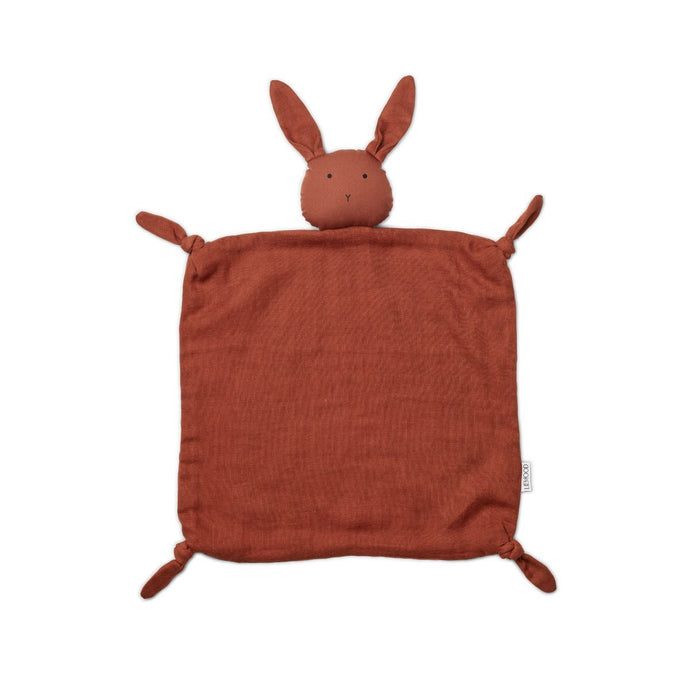 Liewood Agnete Organic Cuddle Cloth - Rabbit Rusty