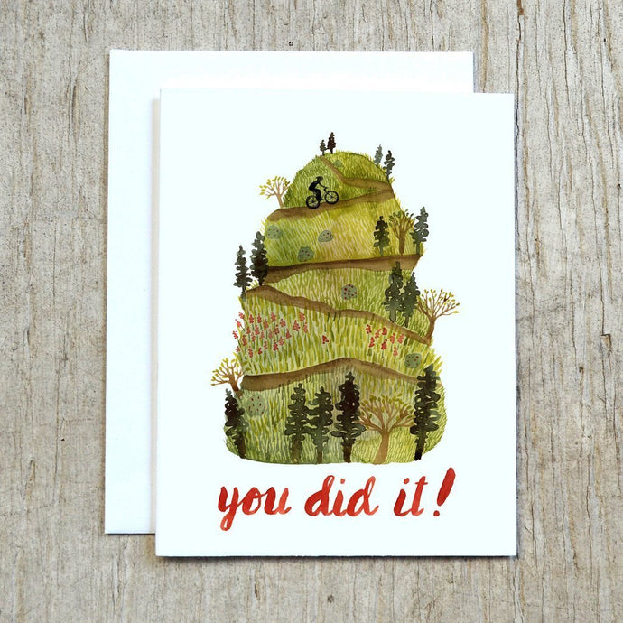 You did it card by Little Truths Studio